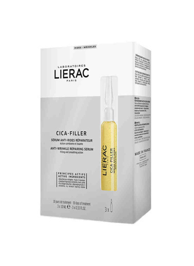 Lierac Lierac Cica-Filler Anti-Wrinkle Repairing Serum 3x10ml Renksiz